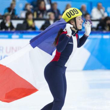Aurélie Monvoisin, une fille en or !