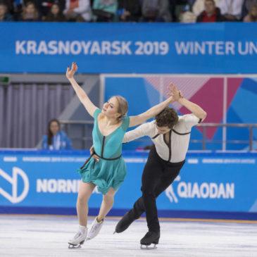 Danse sur glace : Louis Thauron & Adelina Galyavieva prennent rendez-vous.