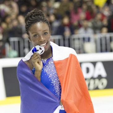 Maé-Bérénice Meité porte-drapeau de la délégation française !